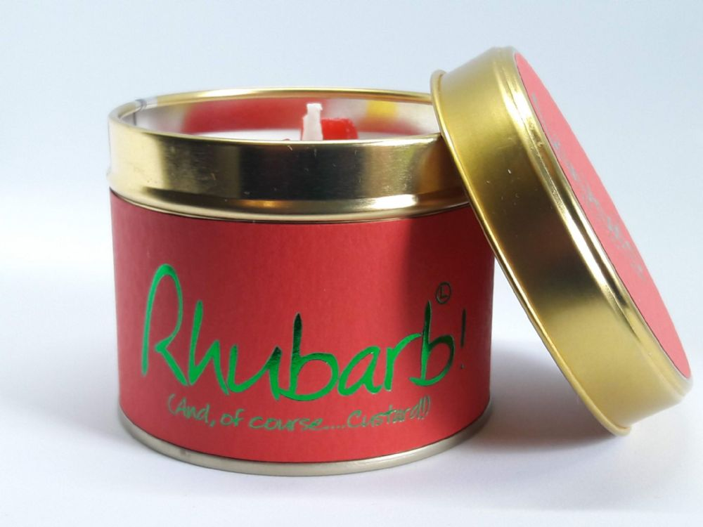 Lily-Flame Candles - Rhubarb